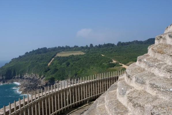 Aussicht vom Fort La Latte