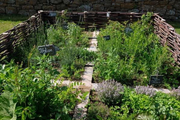 Garten in Fort La Latte