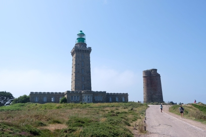 Leuchtturm Cap Fréhel und Turm Vauban