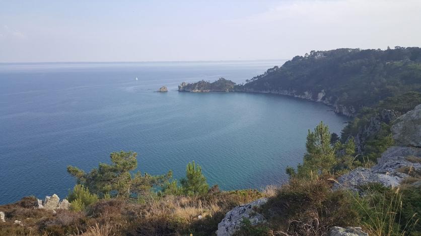 Pointe de Saint-Hernot oû l'Île Vierge