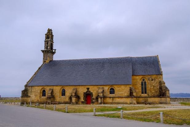 Chapelle Notre-Dame-de-Rocamadour im Hafen von Camaret-sur-Mer