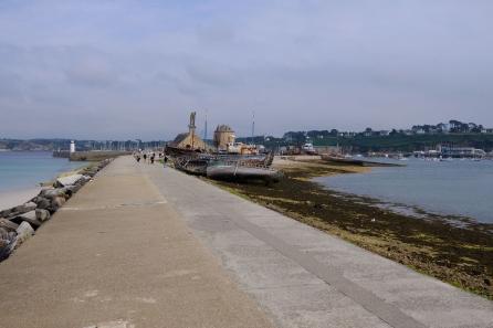 Hafendamm (Sillon) von Camaret-sur-Mer
