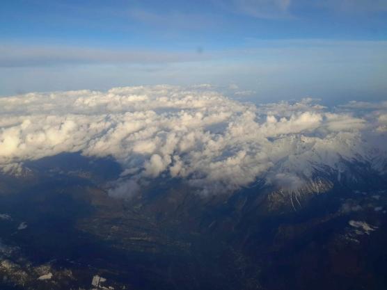 Ausblick über die Alpen