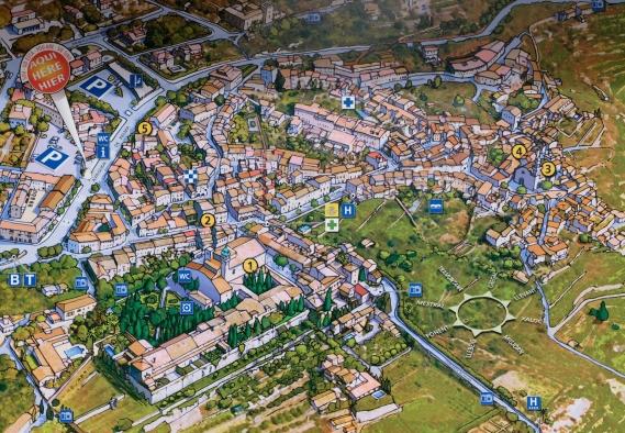 Karte von Valldemossa