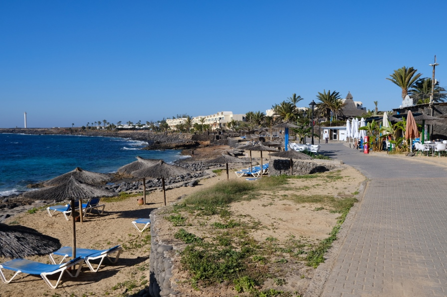 Promenade bei Playa Blanca