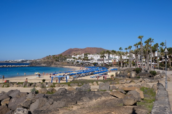 Playa Flamingo in Playa Blanca