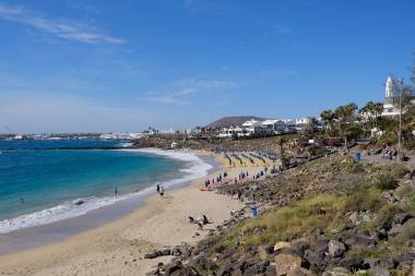 Playa Dorada in Play Blanca