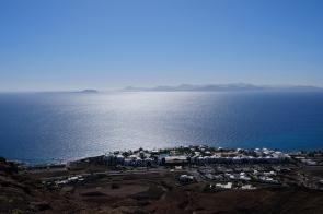 Weitsicht von der Montaña Roja auf Fuerteventura