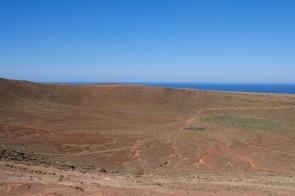 Krater der Montaña Roja