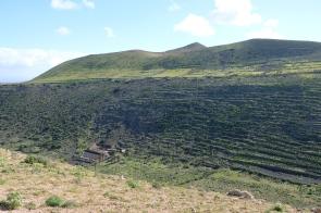Terrassiertes Hangtal bei Guinate