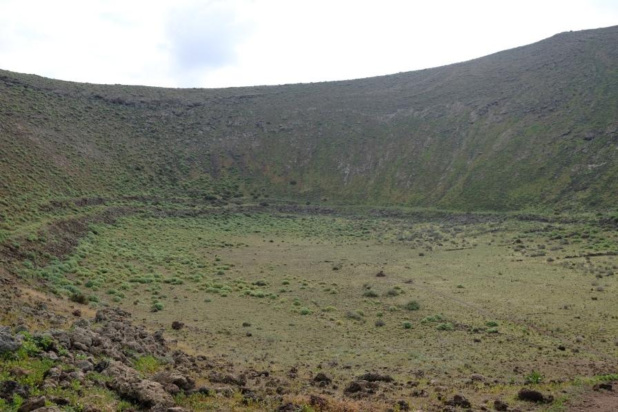 Krater der Montañeta Caldereta