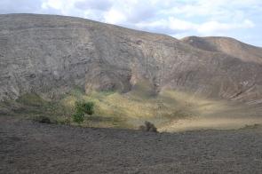 Krater der Caldera Blanca