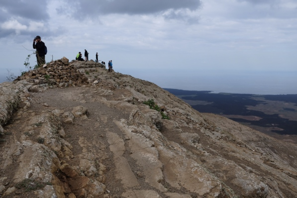 Caldera Blanca auf 458m