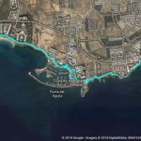 Östlicher Teil der Promenade von Playa Blanca