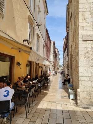 Alstadtgasse in Zadar