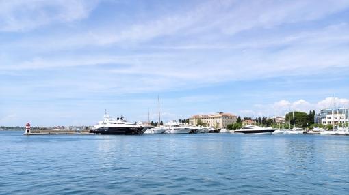 Yachthafen von Zadar