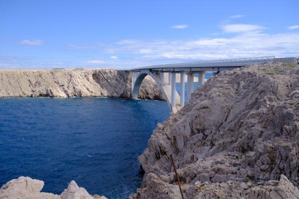 Paški most (Pag-Brücke)