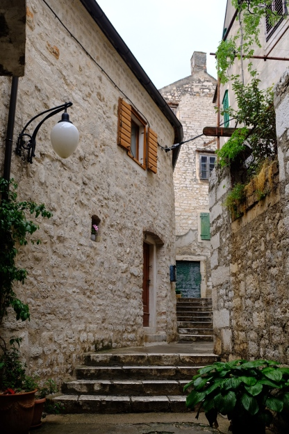 Altstadtgasse in Šibenik