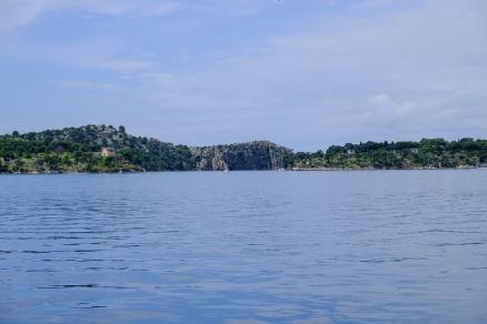 Hafeneinfahrt von Šibenik