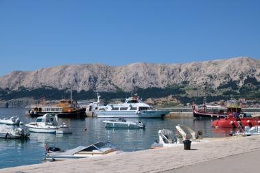 Hafen von Baška