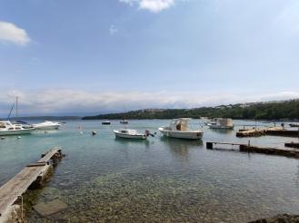 Boote am Paradiesweg