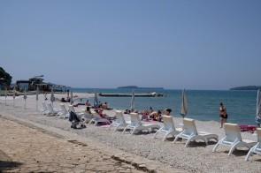 Strand bei Fažana
