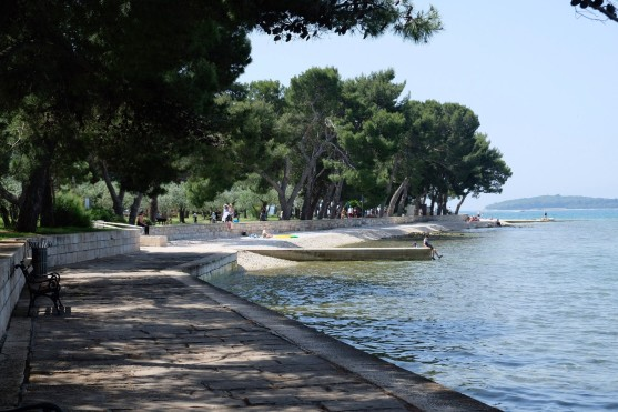 Promenade in Fažana