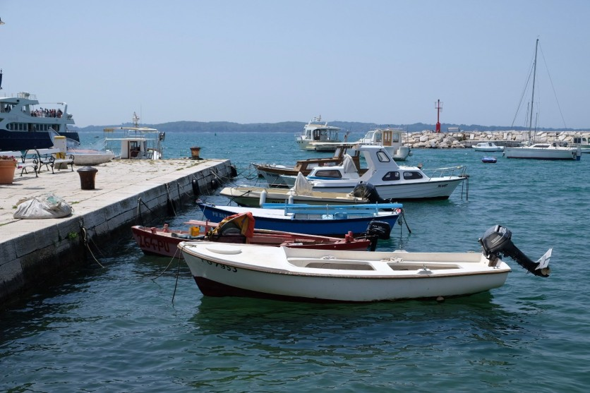 Fischerboote in Fažana