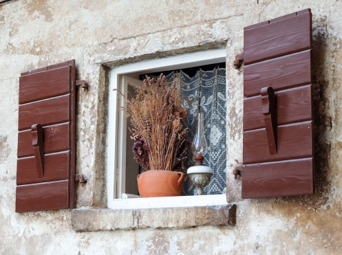 Fenster in Rovinj