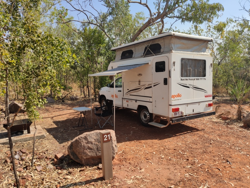 Florence Falls Campground (Litchfield NP)