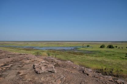 Aussicht über das Ubirr Wetland (Kakadu NP)