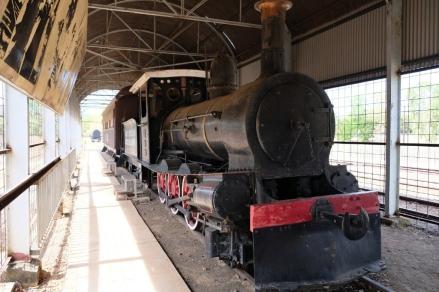 Dampflokomotive in Pine Creek