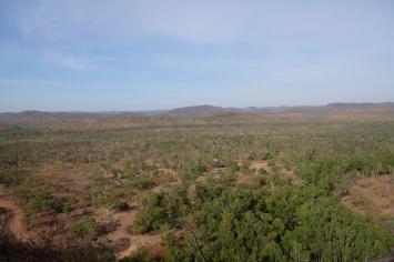 Aussicht von den Gunlom Falls