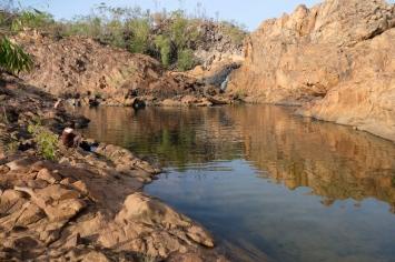 Upper Pool von Leliyn (Edith Falls)