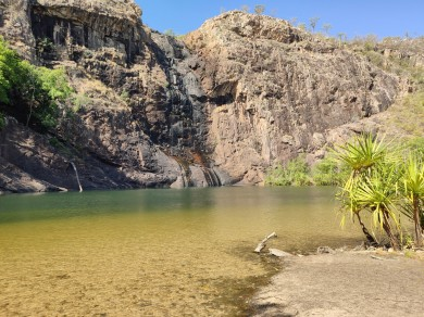Plunge Pool der Gunlom Falls