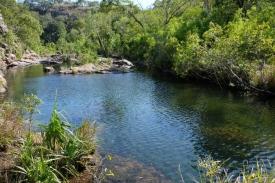 Pool bei Maguk Falls