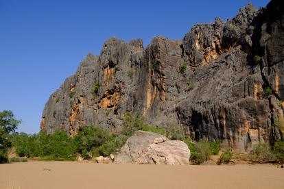 Schluchtwände der Bandilgan Gorge