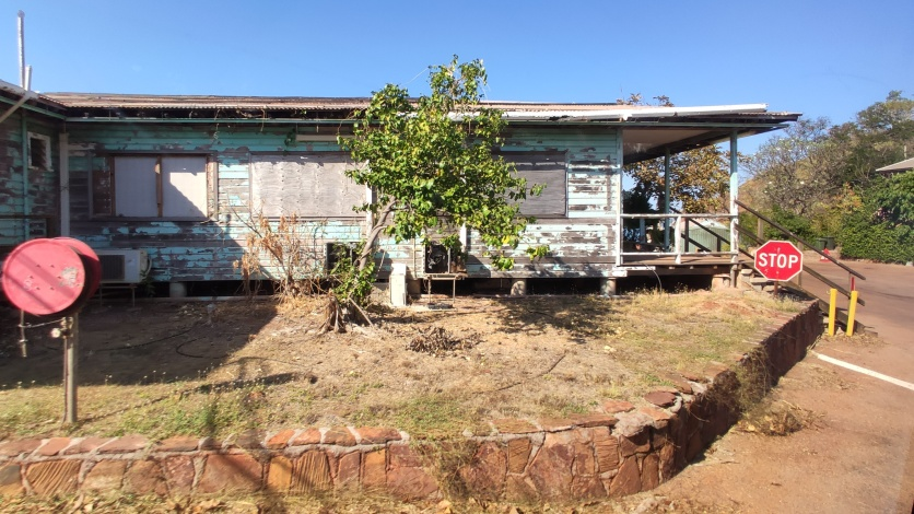 Verlassenes Haus auf Cockatoo Island