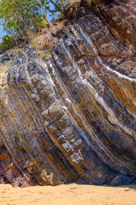Gesteinsschichten auf Iron Islands