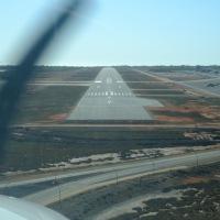 Anflug auf Broome