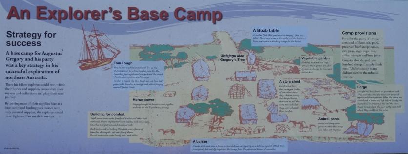 Gregory's Base Camp (Schautafel)