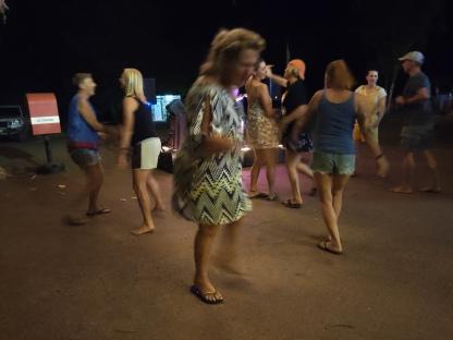 Saison-Ende Party im El Questro Resort