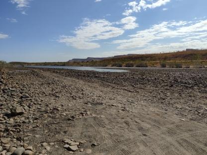 Querung Pentecost River (Gibb River Road)
