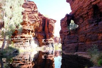 Rock Arch Pool (Kalamina Gorge)