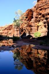 Spiegelungen in Kalamina Gorge