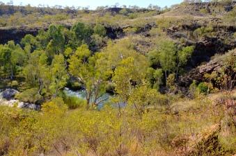 Sicht in die Kalamina Gorge
