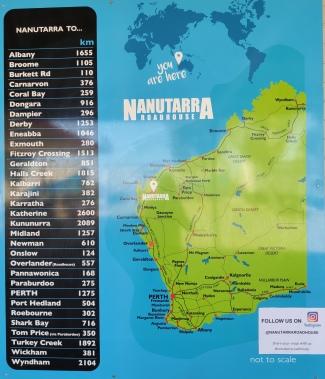 Nanutarra Übersichtskarte
