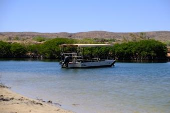 Yardie Creek Ausflugsboot