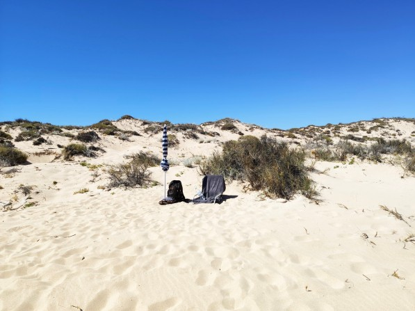 Am Strand beim Jurabi Coastal Park
