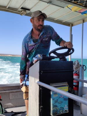 Skipper (Glass Bottom Boat Tour)